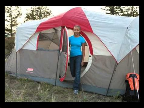 tent with hinged door coleman weathermaster 10 person hinged door tent