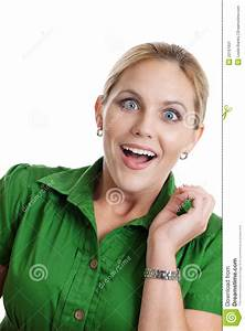Surprised Woman Stock Image - Image: 23161931