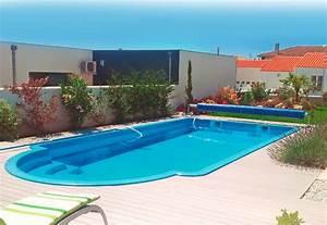 Piscine Semi Enterrée Coque : piscine en coque piscines coque hydro sud ~ Melissatoandfro.com Idées de Décoration