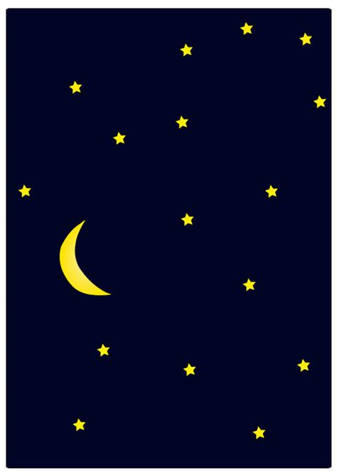 afbeelding prent nacht afb