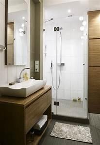 Petite Salle De Bain Avec Douche Italienne : 26 id es d 39 am nagement salle de bain petite surface ~ Carolinahurricanesstore.com Idées de Décoration