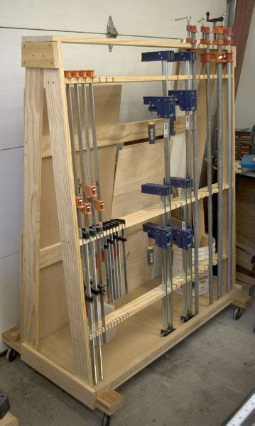 images  workshop clamp storage  pinterest workshop storage racks  woodworking