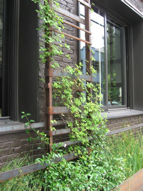 innovative trellises in landscape other metro with wood