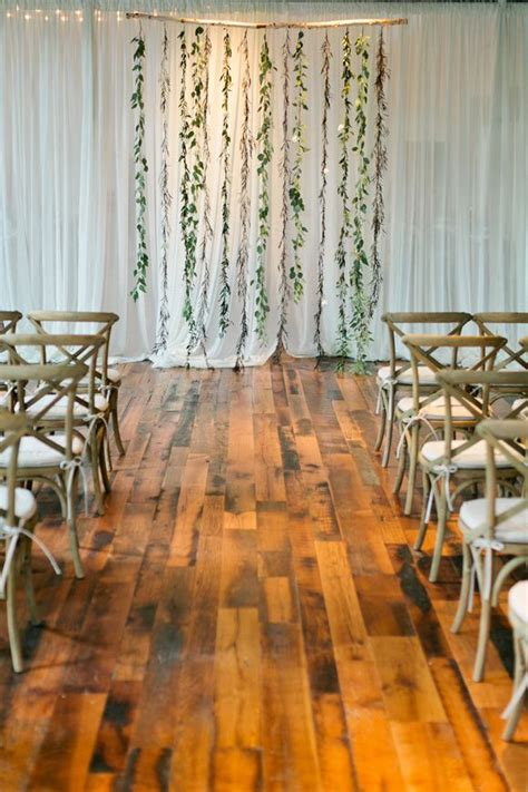 Backdrops How To Make by Create A Simple Floral Backdrop To Transform Your Wedding