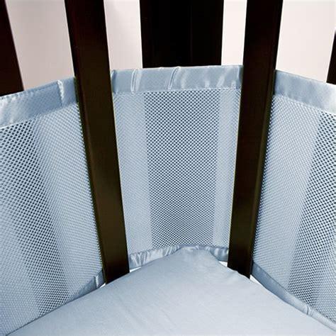 mesh crib liner breathable baby mesh crib liner blue crib bumpers