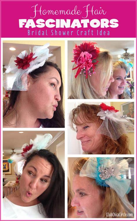 homemade hair fascinators craft diy