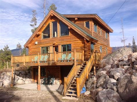 Mountain Log Cabins by Modern Log Cabin Minutes From Rocky Mountain Vrbo