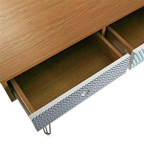 table de bureau design table de bureau design scandinave 3 tiroirs multicolores