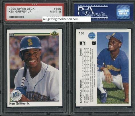 1990 deck ken griffey jr psa card set registry bouffard s griffey jr cards