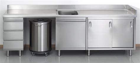 meuble cuisine inox professionnel meuble de cuisine professionnel en inox meuble de salon