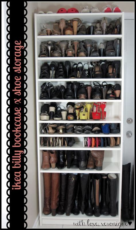 Shoe Storage Bookcase by Billy Bookcase With