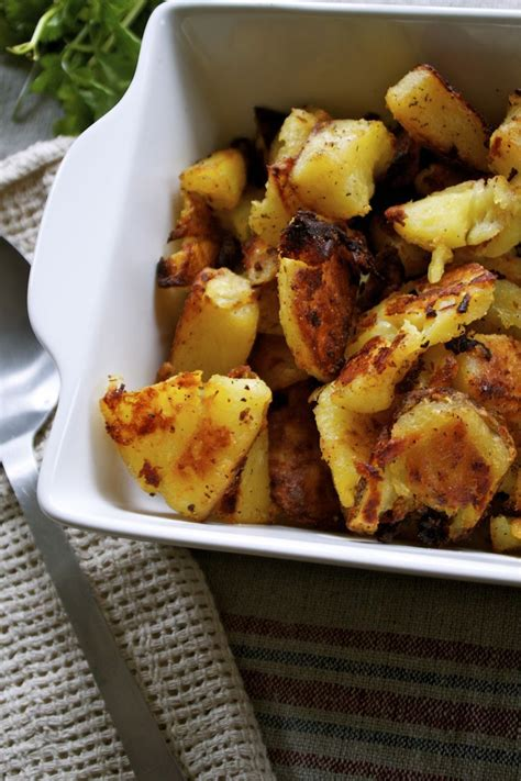 cuisine oliver recettes oliver 39 s chuffed roasted potatoes recettes noel