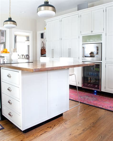 how to add a kitchen island how to add detail to a plain kitchen island the