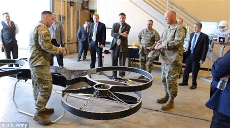 military bosses reveal lastest hoverbike   battlefield daily mail