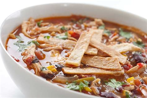 cooker chicken tortilla soup slow cooker chicken tortilla soup