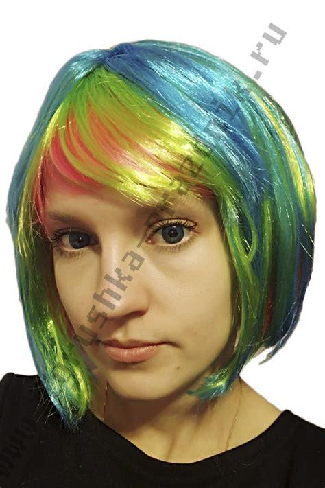 Парик Каре разноцветный купить
