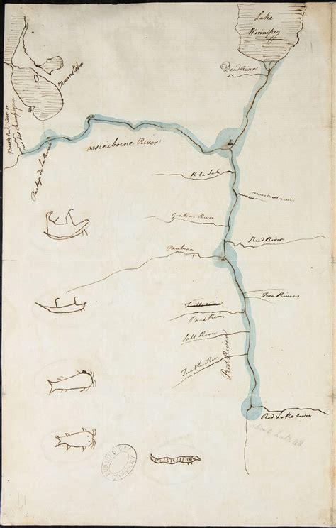 selkirk treaty  map spotlight hbca archives