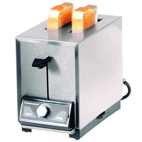 How To Use Pop Up Toaster - toastmaster tp209 2 slice commercial pop up toaster 120v