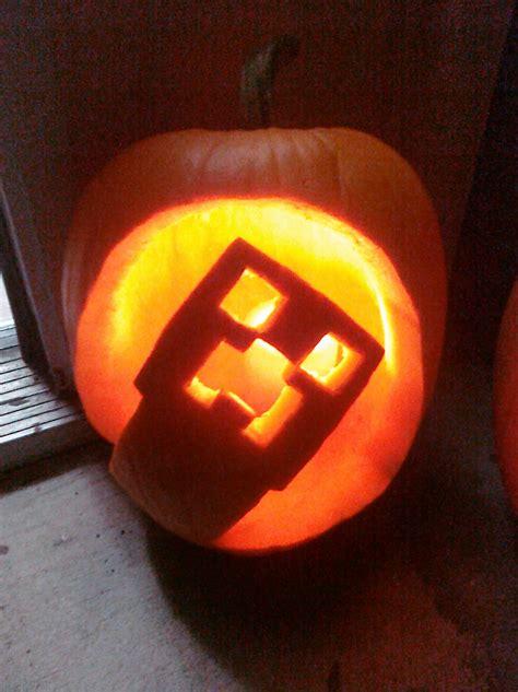 Minecraft Creeper Pumpkin Stencils by Excellent Minecraft Halloween Pumpkin Ideas Martian Outpost