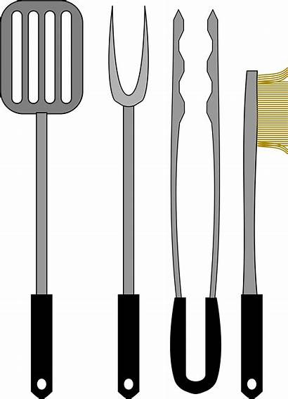 Bbq Grill Tools Barbecue Vector Fork Svg
