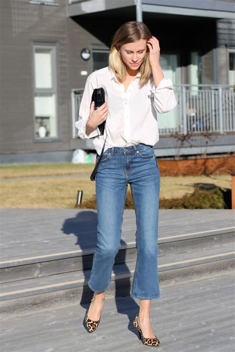 Spring Denim Trends: Cropped Flares Are the Must-Have ...