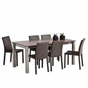 Table De Cuisine Rectangulaire : table de cuisine rectangulaire en stratifi avec allonge ~ Teatrodelosmanantiales.com Idées de Décoration