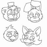 Freddy Coloring Fazbear Pages Printable Getcolorings Successful sketch template