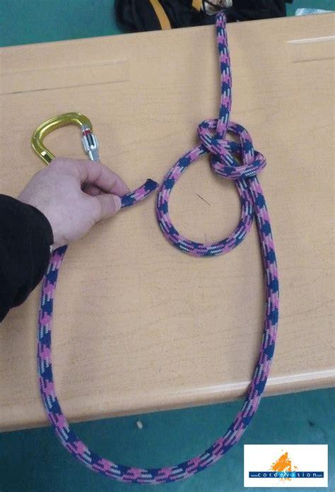 comment faire un noeud de chaise noeud de chaise cordévasion