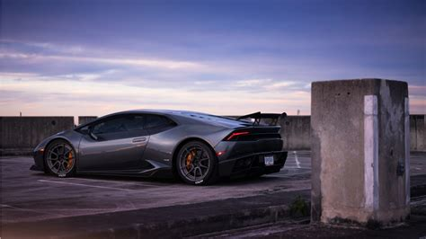 lamborghini huracan  adv wheels wallpaper hd car