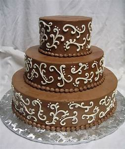 Chocolate Wedding Cake - Cakes Picture