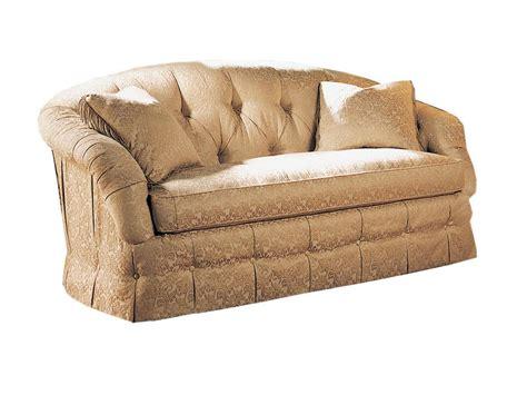 One Cushion Loveseat by Sherrill Living Room Tufted One Cushion Sofa 1981