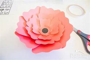 How To Make Giant Paper Flowers For Wedding Howsto Co