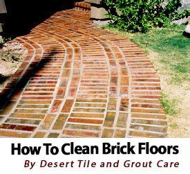 how to clean brick brick flooring and bricks on