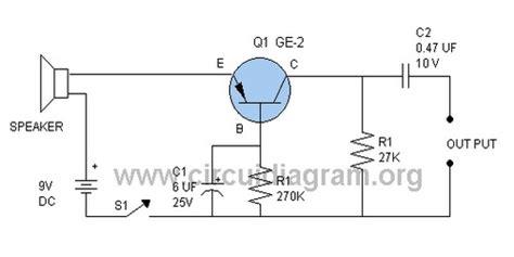 speaker microphone circuitdiagramorg