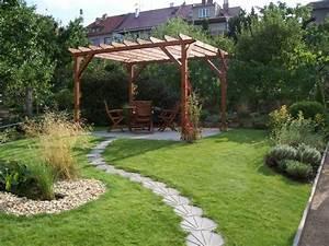 Idées Allée De Jardin : am nagement de jardin paysager et moderne ~ Melissatoandfro.com Idées de Décoration