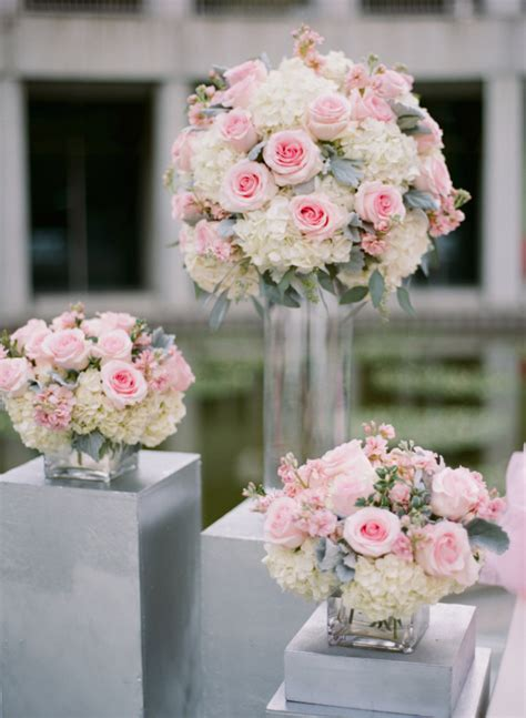 Hydrangea Arrangements For Weddings Summer Bouquets