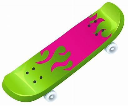 Skateboard Clipart Clip Vector Skateboarding Cliparts Graphics