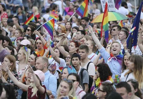 mayor joins pride parade  polands anti lgbt campaign