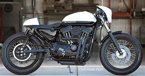 New Dp Customs Box Pipe Exhaust System For Sportsters