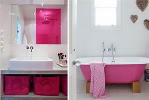 Salle De Bain Idée Déco : style d co salle de bain rose ~ Dailycaller-alerts.com Idées de Décoration