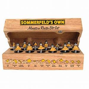 12-Pc Mini Router Bit Set