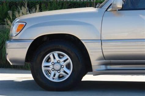 lexus sport car 4 door find used 1999 lexus lx470 base sport utility 4 door 4 7l