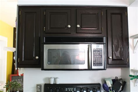 refinish oak cabinets  stain  big reveal