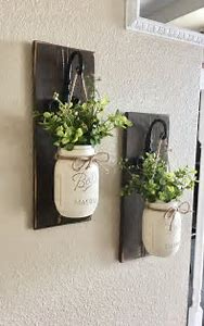 Best Diy Mason Jar Wall Decor Ideas And Images On Bing Find What