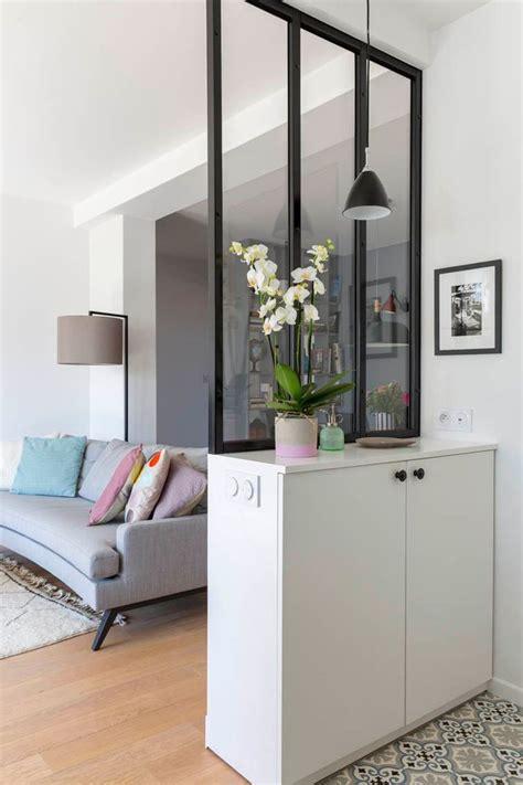 meuble pour separer cuisine salon deco verriere salon