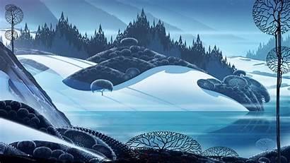 Banner Wallpapers Saga Eyvind Earle Background Backgrounds