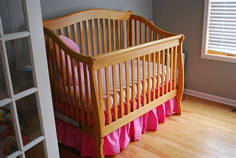crib skirt pattern gathered dust ruffle bed skirt for cribs and toddler beds