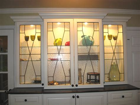 leaded glass cabinet doors leaded glass mclean stained glass studios