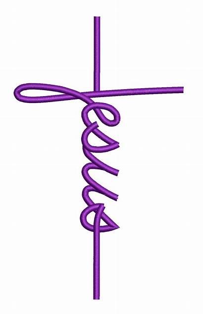 Jesus Cross Embroidery Machine Svg Designs Sewingdivine