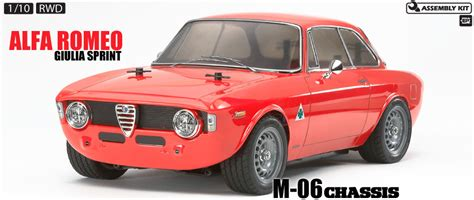 Tamiya America Item #58486  Rc Alfa Romeo Giulia Sprint M06